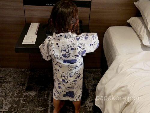 子供用の浴衣